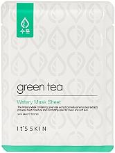 Fragrances, Perfumes, Cosmetics Green Tea Sheet Mask for Oily & Combination Skin - It's Skin Green Tea Watery Mask Sheet