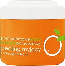 "Fragrances, Perfumes, Cosmetics Body Peeling with Microgranules ""Orange"" - Ziaja Body Peeling"