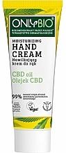 Fragrances, Perfumes, Cosmetics Moisturizing Hand Cream - Only Bio Only Eco CBD Oil