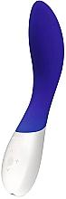 Fragrances, Perfumes, Cosmetics G-Spot & Clitoral Vibrator, navy - Lelo Mona Wave Midnight Blue