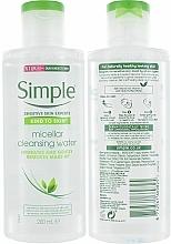 Micellar Water - Simple Kind to Skin Micellar Cleansing Water — photo N2