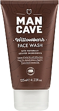 Fragrances, Perfumes, Cosmetics Face Cleansing Gel - Man Cave Willow Bark Face Wash