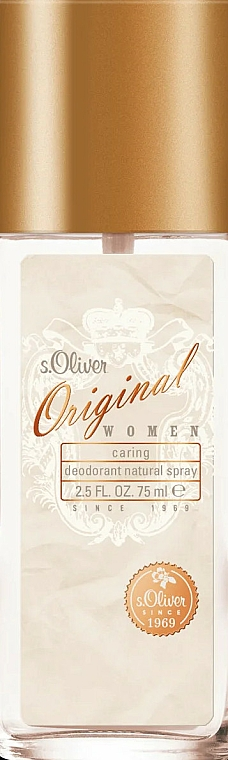 S. Oliver Original Women - Spray Deodorant — photo N1