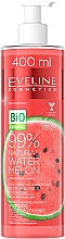 Fragrances, Perfumes, Cosmetics Watermelon Body & Face Hydrogel - Eveline Cosmetics 99% Natural Watermelon