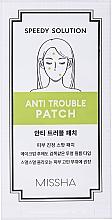 Fragrances, Perfumes, Cosmetics Anti-Acne Healing Patch - Missha Speedy Solution Anti Trouble