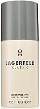 Fragrances, Perfumes, Cosmetics Karl Lagerfeld Lagerfeld Classic - Deodorant-Spray