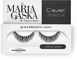 Fragrances, Perfumes, Cosmetics Flase Lashes - Clavier Quick Premium Lashes Smokey Dokey 809