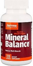 Fragrances, Perfumes, Cosmetics Mineral Complex - Jarrow Formulas Mineral Balance, Iron-Free