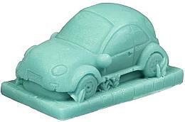 "Fragrances, Perfumes, Cosmetics Handmade Natural Soap ""Car"" with Kiwi Scent - LaQ Happy Soaps Natural Soap"