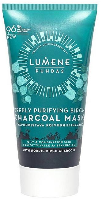 Deeply Purifying Birch Charcoal Mask - Lumene Puhdas Deeply Purifying Birch Charcoal Mask