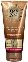 Fragrances, Perfumes, Cosmetics Bronzing Body Lotion - DAX Sun Gradual Self-taninng Body Lotion
