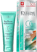 Fragrances, Perfumes, Cosmetics Soothing Firming CC Cream - Eveline Cosmetics Therapy