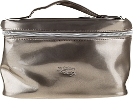 Fragrances, Perfumes, Cosmetics Makeup Bag Fashion Design, 97058, silver-brown - Top Choice