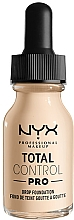 Fragrances, Perfumes, Cosmetics Foundation - NYX Professional Total Control Pro Drop Foundation