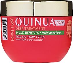 Fragrances, Perfumes, Cosmetics Intensive Care Colored Hair Mask - Kativa Quinua PRO Deep Treatment