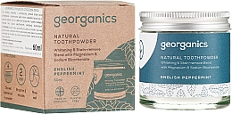 Fragrances, Perfumes, Cosmetics Natural Toothpowder - Georganics English Peppermint Natural Toothpowder
