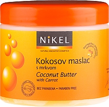 Fragrances, Perfumes, Cosmetics Coconut Butter for Tanning - Nikel Coconut Butter