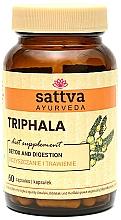 "Fragrances, Perfumes, Cosmetics Supplement ""Triphala"", 60 capsules - Sattva Ayurveda"