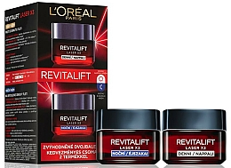 Fragrances, Perfumes, Cosmetics Set - L'Oreal Paris Revitalift Laser X3 (f/cr/50ml + f/cr/50ml)