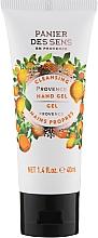 Fragrances, Perfumes, Cosmetics Provence Cleansing Hand Gel - Panier des Sens Provence Cleansing Hand Gel