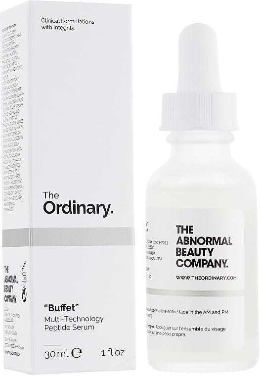 Peptide Face Serum - The Ordinary Buffet Multi-Technology Peptide Serum