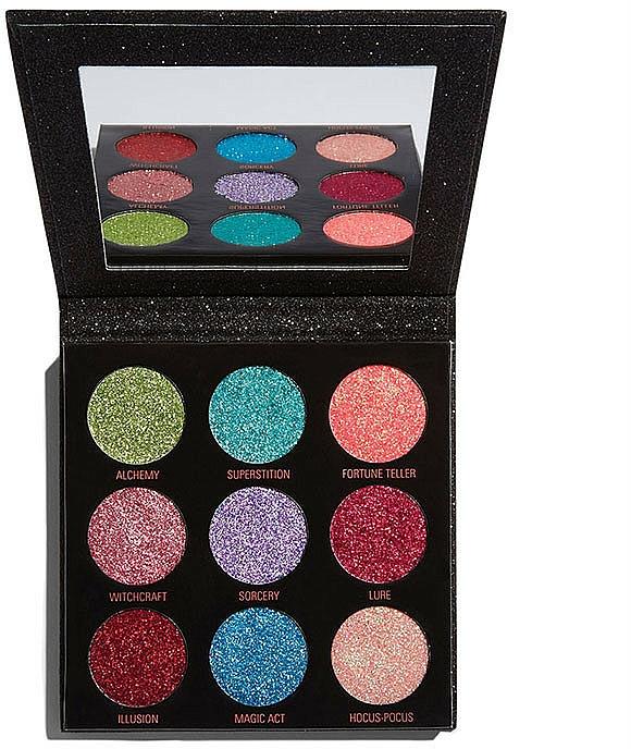 Glitter Palette - Makeup Revolution Pressed Glitter Palette Abracadabra