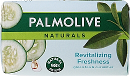 """Fragrances, Perfumes, Cosmetics Soap """"Revitalizing Freshness"""" with Green Tea & Cucumber Extracts - Palmolive Naturel"""
