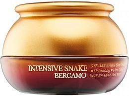 Fragrances, Perfumes, Cosmetics Anti-Aging Cream with Snake Venom Extract - Bergamo Intensive Snake Wrinkle Care Cream