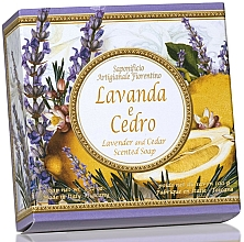 """Fragrances, Perfumes, Cosmetics Natural Soap """"Lavender and Cedar"""" - Saponificio Artigianale Fiorentino Capri Lavender & Cedar"""