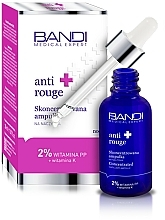 Fragrances, Perfumes, Cosmetics Concentrated Ampoule - Bandi Medical Expert Anti Rouge Concentrated Ampoule