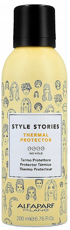 Heat Protection Hair Spray - Alfaparf Style Stories Thermal Protector