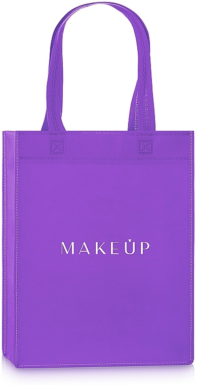 "Shopping Bag, purple ""Springfield"" - MakeUp Eco Friendly Tote Bag"