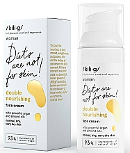 Fragrances, Perfumes, Cosmetics Double Nourishing Cream for Normal and Dry Skin - Kili·g Woman Double Nourishing Cream