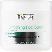 Fragrances, Perfumes, Cosmetics Foot Scrub - Bielenda Professional Podo Expert Program Smoothing Foot Scrub With Urea and Pumice