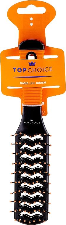 Tunnel Hair Brush, 2021, black-orange - Top Choice — photo N1
