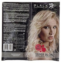 Fragrances, Perfumes, Cosmetics Bleaching Hair Powder - Black Professional Line Bleaching Powder Blue
