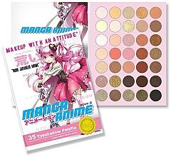 Fragrances, Perfumes, Cosmetics Eyeshadow Palette - Rude Manga Anime Eyeshadow Palette