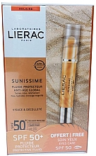Fragrances, Perfumes, Cosmetics Set - Lierac Sunissime (sun/fluid/40ml + sun/eye/balm/3g)