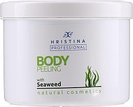 Fragrances, Perfumes, Cosmetics Seaweed Body Peeling - Hristina Professional Seaweed Body Peeling