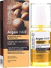 "Fragrances, Perfumes, Cosmetics Argan Oil & Keratin Hair Oil ""Repair & Protection"" - Dr. Sante Argan Hair"