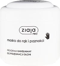 Fragrances, Perfumes, Cosmetics Hand & Nail Mask - Ziaja Pro Hand and Nail Mask