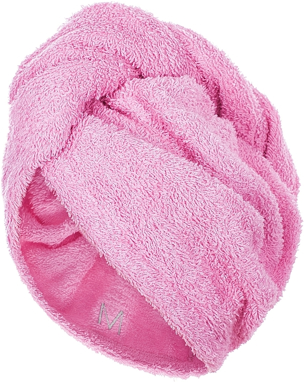 Hair Drying Turban, pink - MakeUp