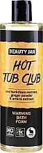 Fragrances, Perfumes, Cosmetics Warming Bath Foam with Sea Buckthorn Extract, Ginger Powder & Arnica Extract - Beauty Jar Hot Tub Club Warming Bath Foam