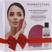 Fragrances, Perfumes, Cosmetics Set - DermoFuture (f/gel/150 ml + brush/1pcs)