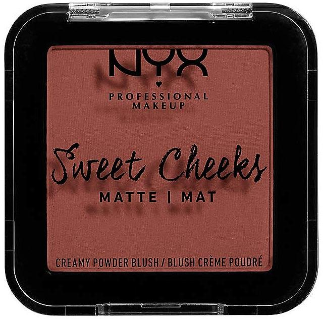 Matte Blush - NYX Professional Makeup Sweet Cheeks Matte Blush