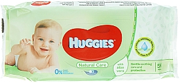 Fragrances, Perfumes, Cosmetics Kids Wet Wipes Natural Care, 56 pcs - Huggies