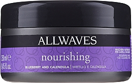 Fragrances, Perfumes, Cosmetics Nourishing After Coloring Hair Mask with Berries & Calendula Extracts - Allwaves Blueberry And Calendula Nourishing Mask