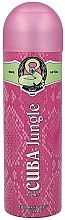 Fragrances, Perfumes, Cosmetics Cuba Jungle Snake - Deodorant