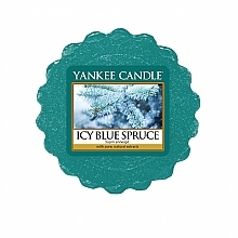 Fragrances, Perfumes, Cosmetics Scented Wax - Yankee Candle Icy Blue Spruce Wax Tart