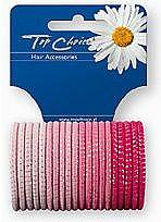 Elastic Hair Bands, 22395, 20 pcs - Top Choice — photo N1